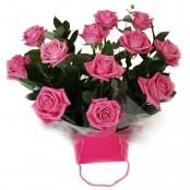 Dreamy Dozen Pink Roses